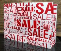 مدل Sale  ( قرمز ) افقی بزرگ