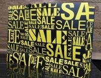 مدل Sale  ( زرد - مشکی ) افقی بزرگ