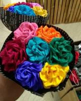دسته گل رنگی